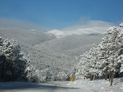 Winter Wonderland - Scenery & Boulder Canyon