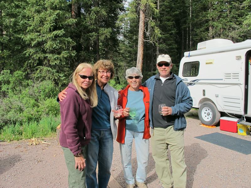Kathi, Janet, Pat and Ed