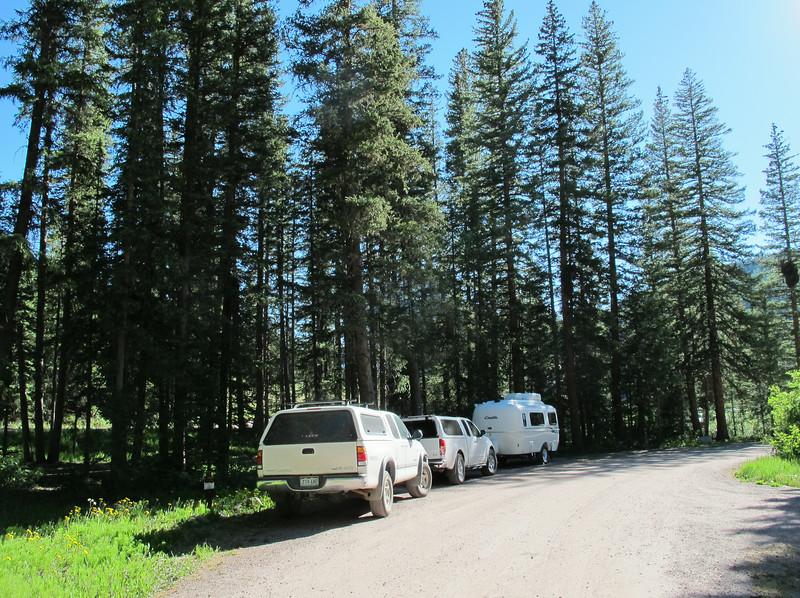 Jeff's campsite