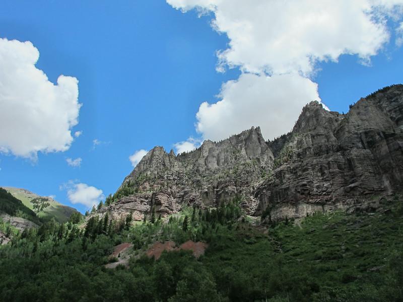 Telluride mountains.