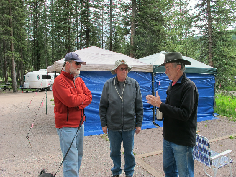 Jeff (left) and two Jims.