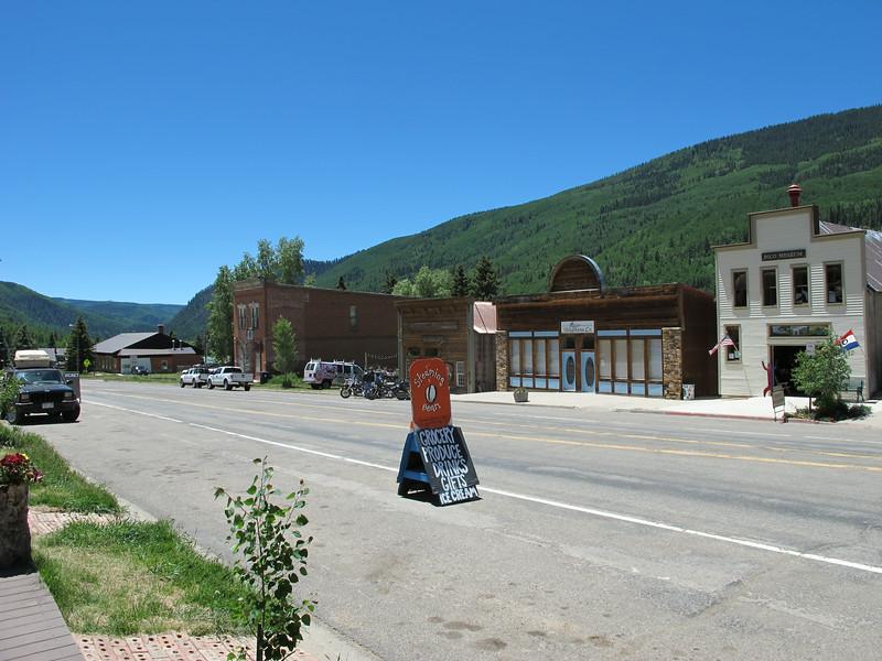 Street view, 'downtown' Rico CO.