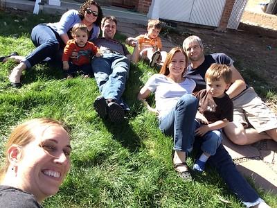 Family plus Jessi!