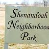 Shenandoah Neighborhood Park Sign