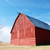 Red Barn and Silos
