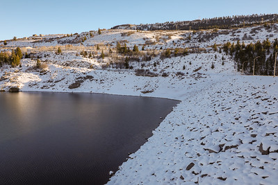 Blue Mesa Dam along the Gunnison River in Colorado's Curecanti National Recreation Area on December 24, 2020. ©Mitch Tobin Usage rights are granted for editorial and nonprofit purposes only. No commercial or re-sale rights are granted without permission of the photographer.
