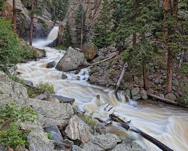 Boulder Falls - Spring runoff