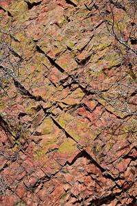 Fractured sandstone, El Dorado Canyon