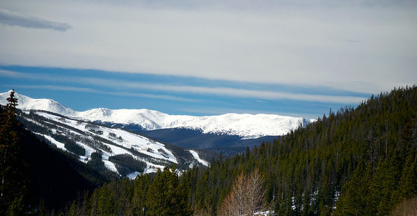 Scenic Colorado Mountain View