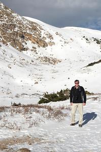 Kurt at Lake Pass