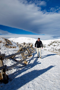 Kurt at Loveland Pass