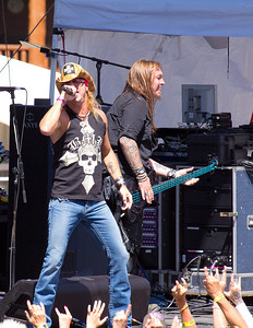 The Bret Michaels band at the Winter Park Music Festival on Sunday, August 7th, 2011