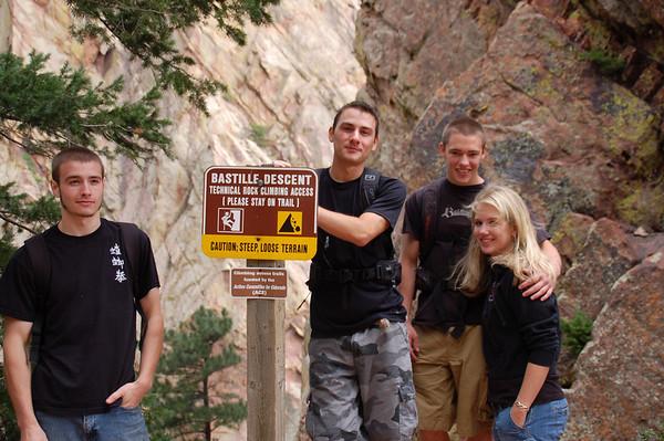 Eldorado State Park Fowler & Rattlesnake Gulch Trail  with Adam, Nick, Brett & Devon