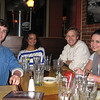 For dinner Friday night at the Walnut St. Brewery with CU students from the Volunteer Resource Center.