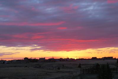 Sunrise over Paint Brush Hills!