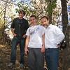 10-17-09 Boulder Creek trail - Adam, Brett and Joel.