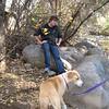 10-17-09 Boulder Creek - Adam & Mamma.