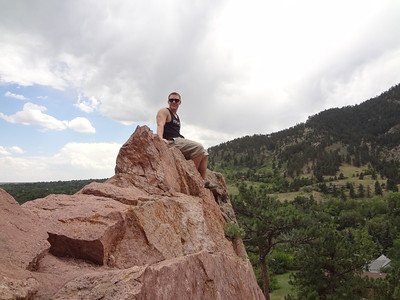 Boulder Canyon With Brett