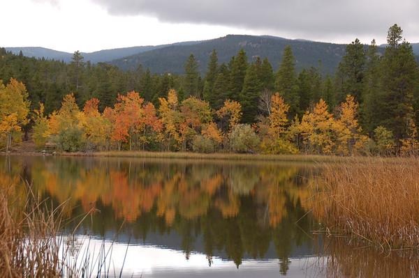 Caribou Open Space, Mud Lake & Peak to Peak  -Late Sept 2012