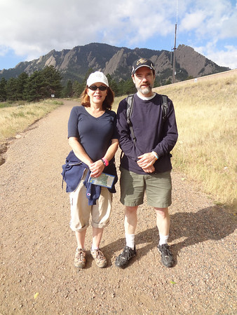 Chautauqua  - Boulder, Mesa Trail With Fred and Andrea Sept 2012