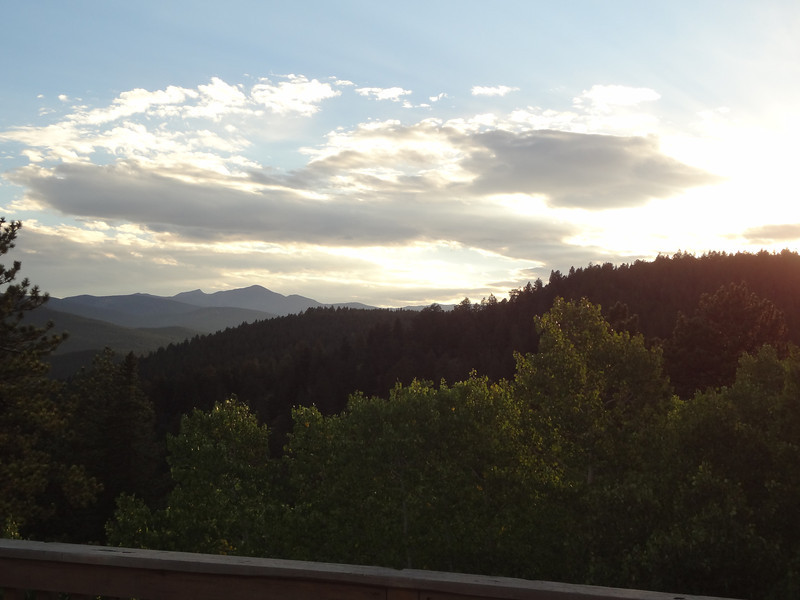 From our deck - Nederland.