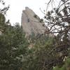 Flatiron from the Mesa Trail