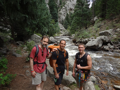 Four Mile Canyon Hike/Climb With Curt & Brett- July 2012