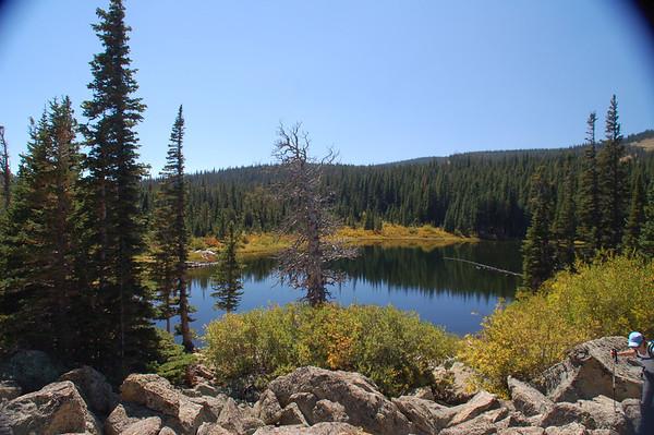 Rainbow Lakes Hike - Indian Peaks Sept 2012