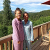 Janine and Kelsey in their new PJ's