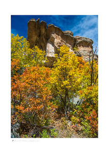 Autumn color, Castlewood Canyon SP, CO