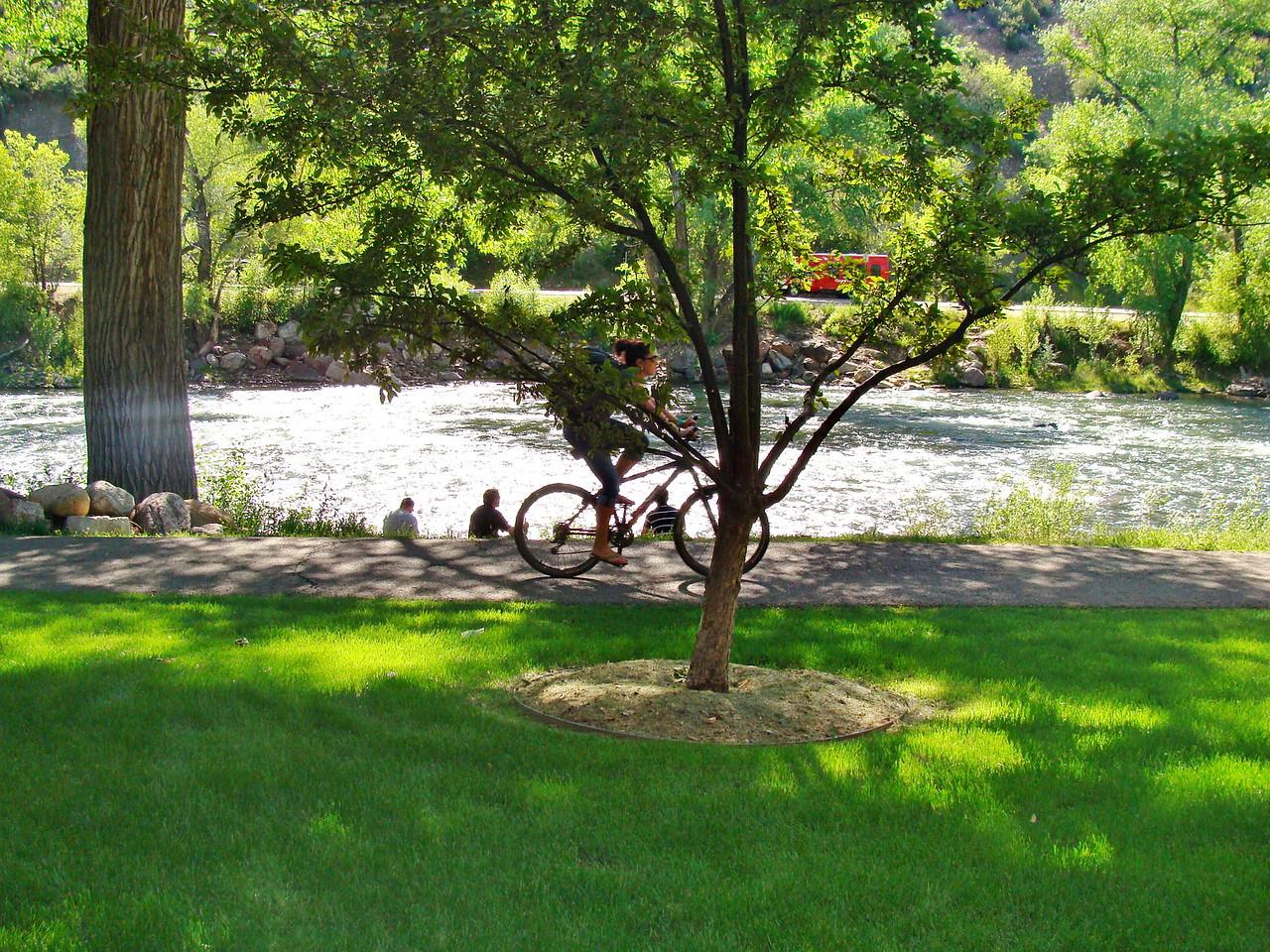Biking the Animas River Trail