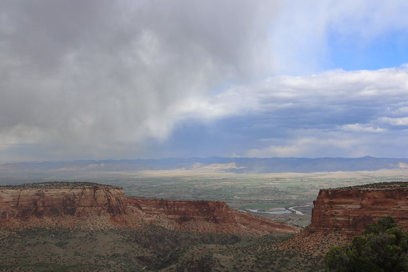 Rain Clouds over the Valley