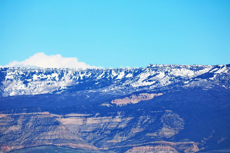 Snow on Grand Mesa
