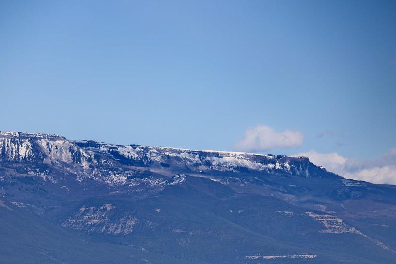Snow Capped Grand Mesa