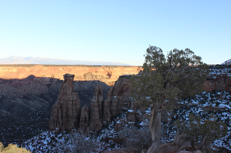 Monoliths Near the Coke Ovens in Winter