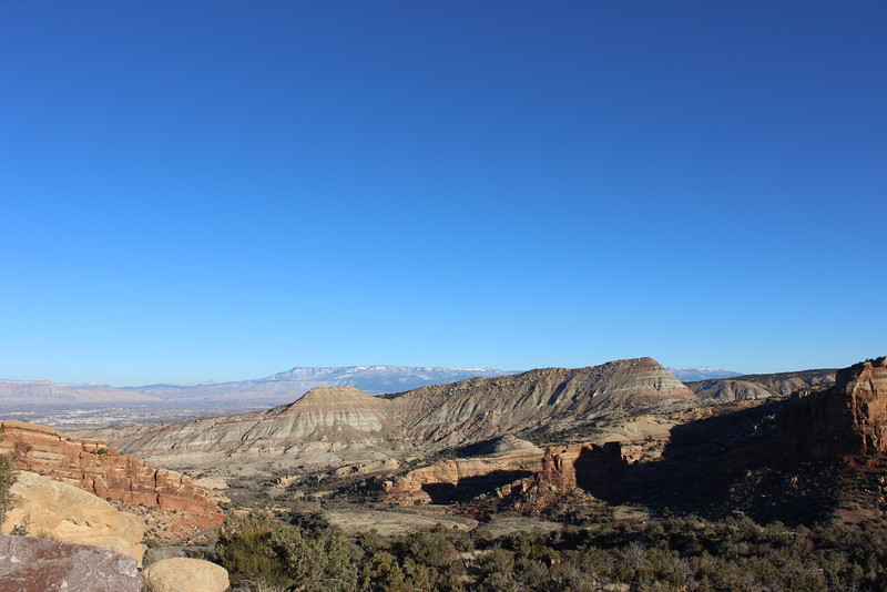 View within the Colorado National Monument