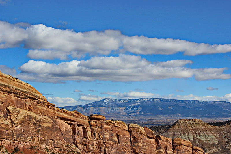 View of Grand Mesa