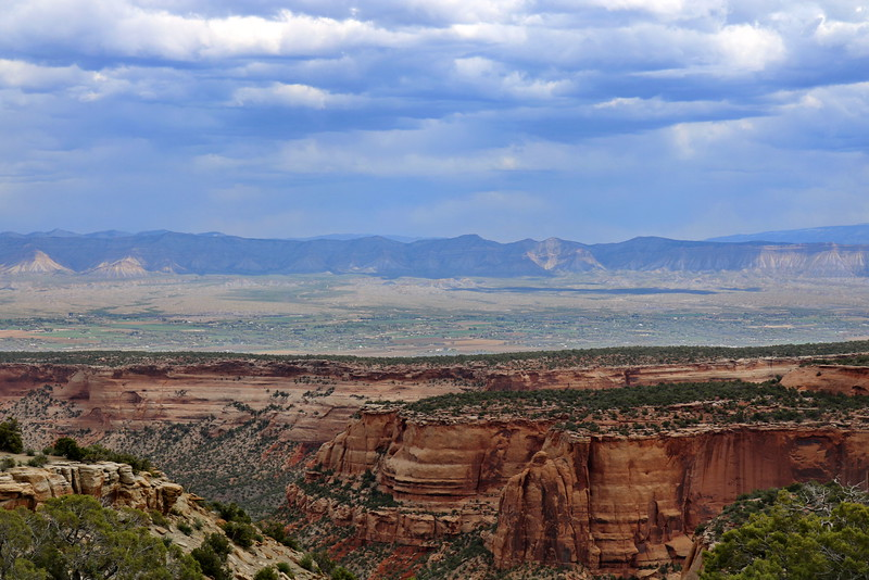 Rocky Mountains, Grand Valley, and Colorado National Monument