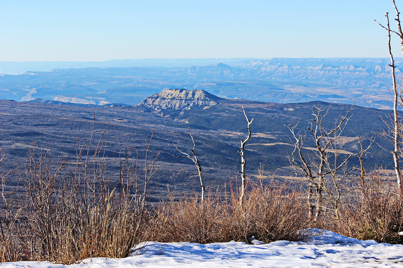 View of Grand Valley from Grand Mesa
