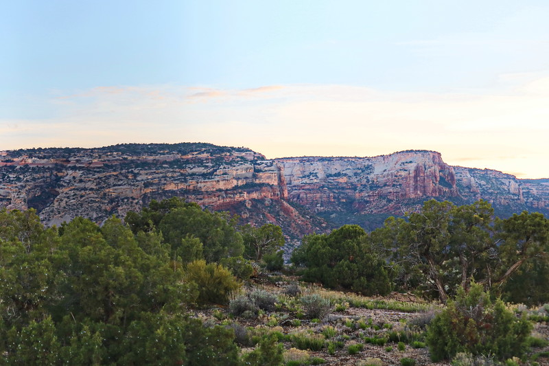 Fruita View of the Colorado National Monument
