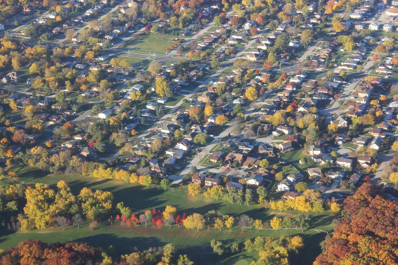 Autumn Neighborhood