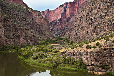 Gates of Lodore - Green River - Dinosaur National Park PreCambrian Lodore Formation