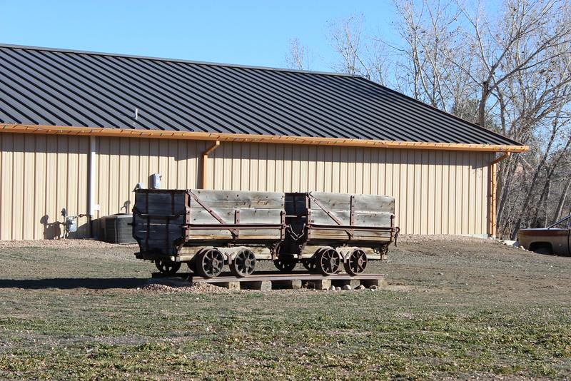 Old Railroad Mining Cars
