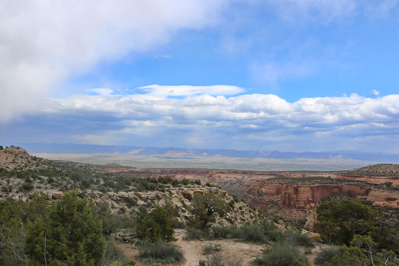 Colorado National Monuemnt View from Fruita
