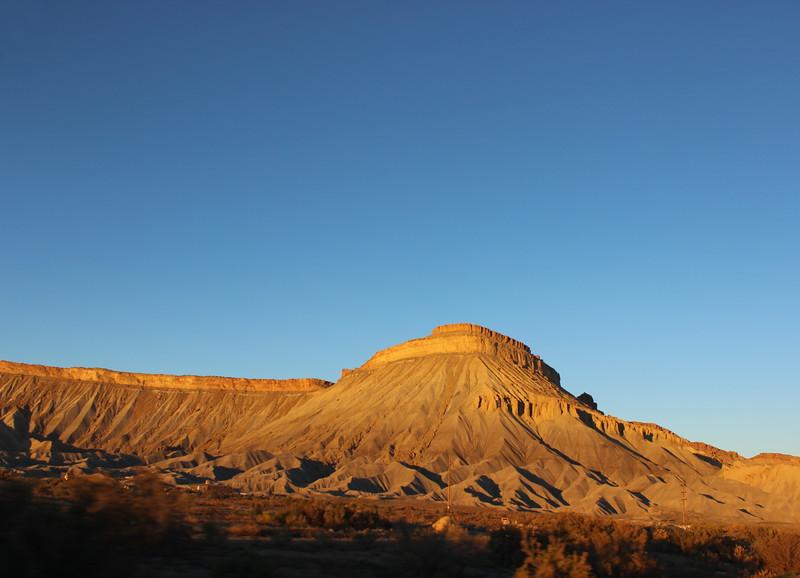 Mount Garfield at Dusk