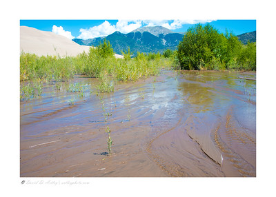 Medano Creek, Great Sand Dunes National Park, CO