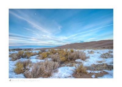 Winter morning, Great Sand Dunes National Park