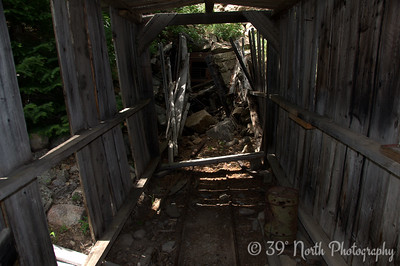 The entrance to the Blue Bird Mine
