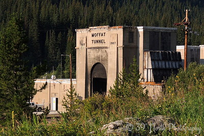 East Portal of the Moffat Tunnel
