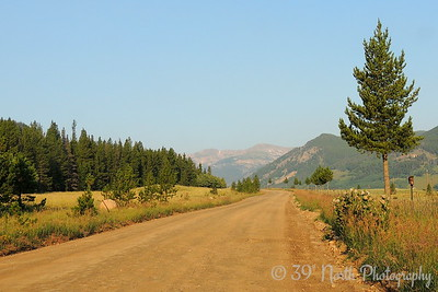Road to the trailhead